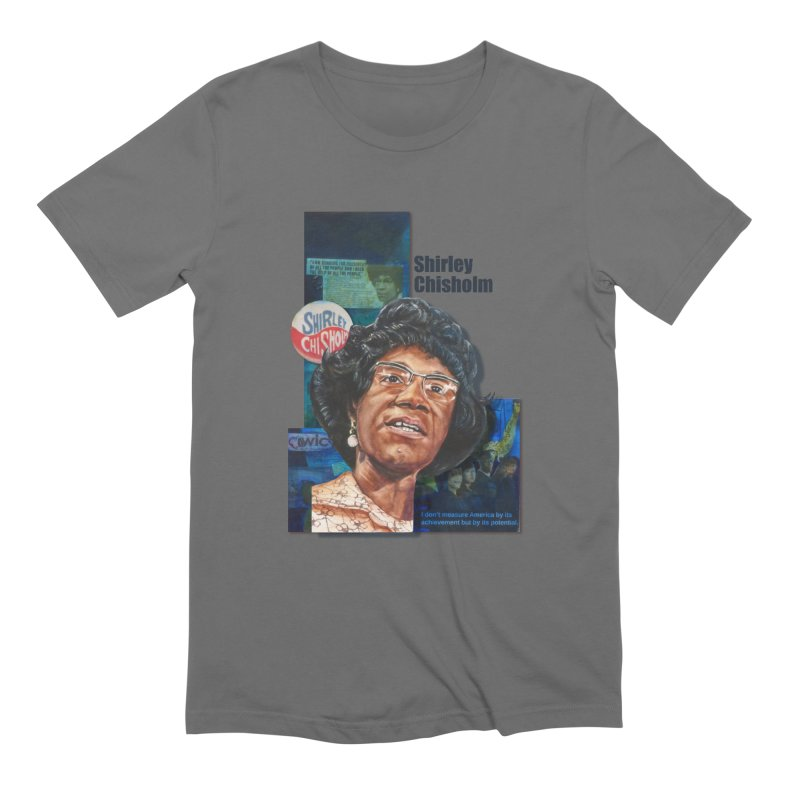 Shirley Chisholm Men's T-Shirt by Afro Triangle's