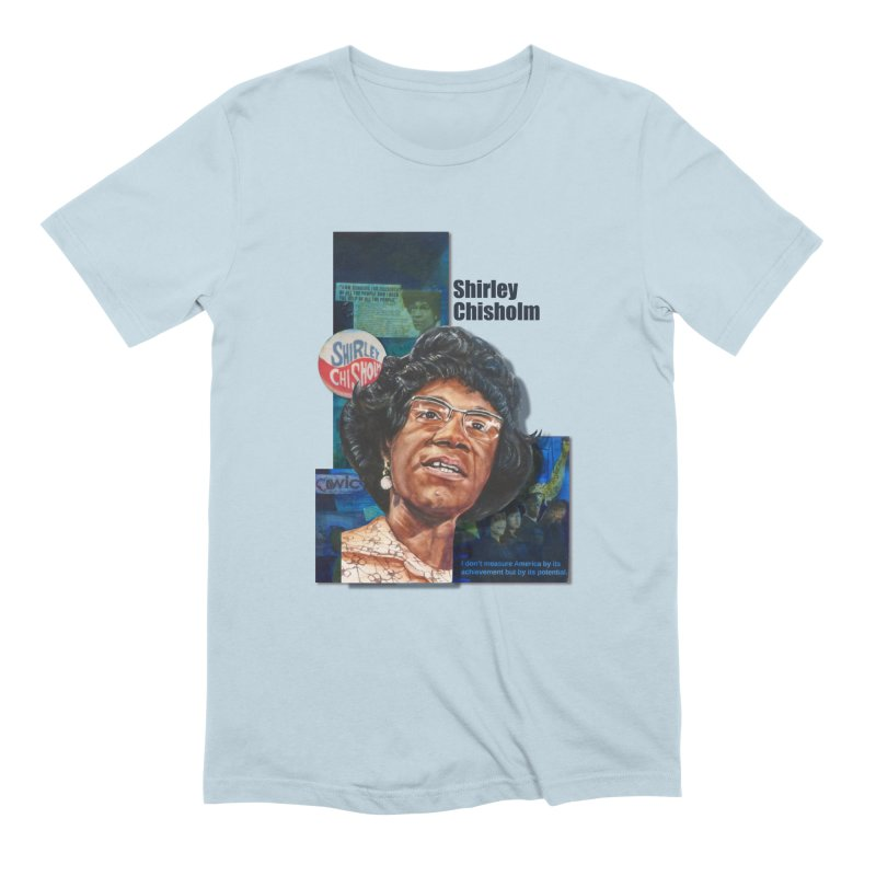 Shirley Chisholm Men's Extra Soft T-Shirt by Afro Triangle's