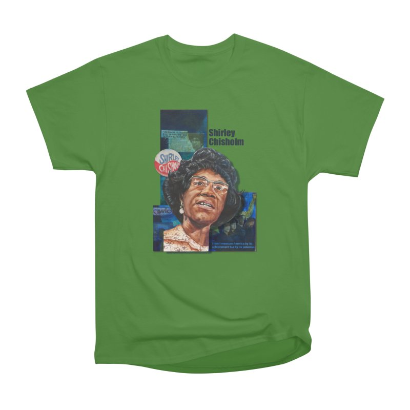 Shirley Chisholm Men's Classic T-Shirt by Afro Triangle's