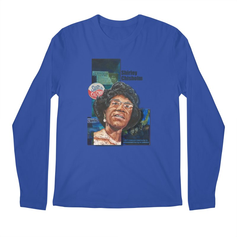 Shirley Chisholm Men's Regular Longsleeve T-Shirt by Afro Triangle's
