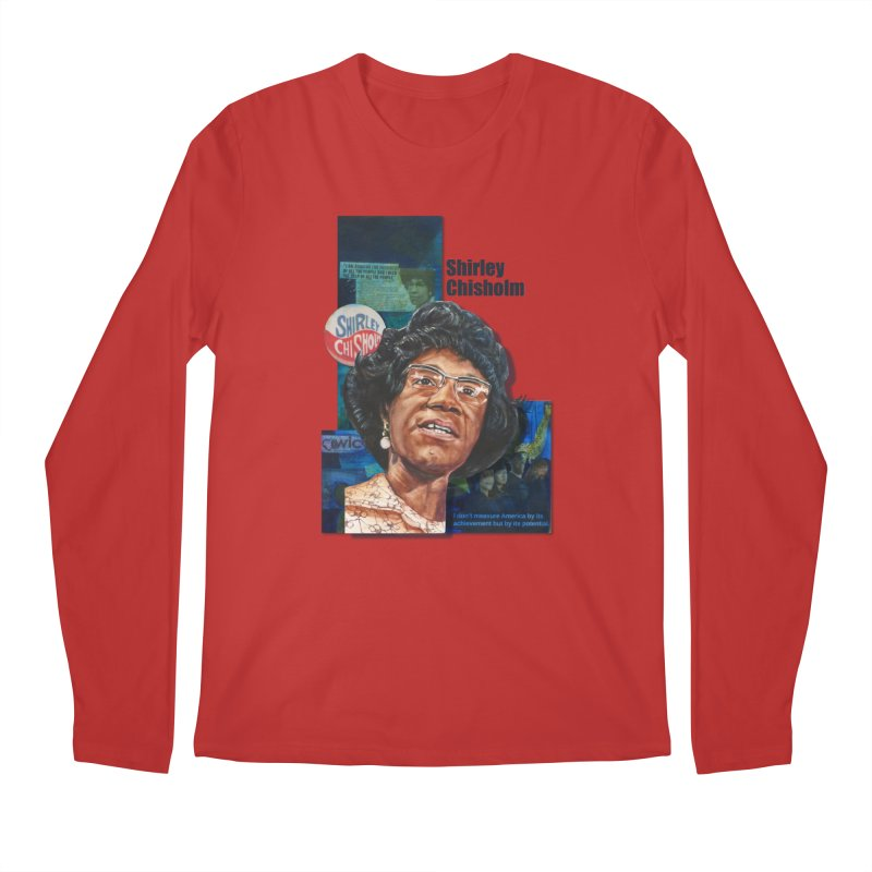 Shirley Chisholm Men's Longsleeve T-Shirt by Afro Triangle's