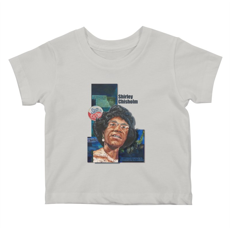 Shirley Chisholm Kids Baby T-Shirt by Afro Triangle's