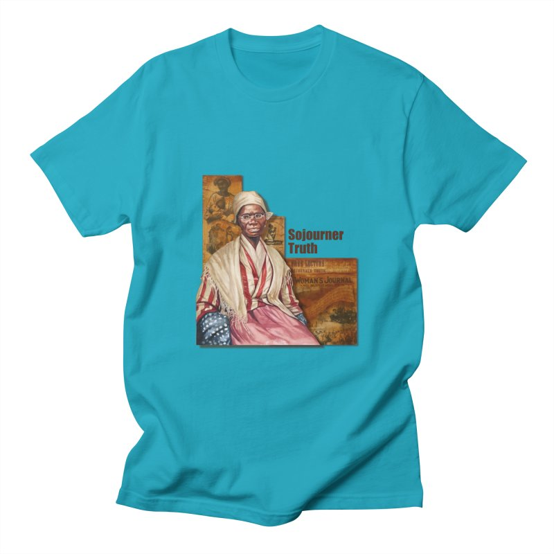 Sojourner Truth Men's T-Shirt by Afro Triangle's