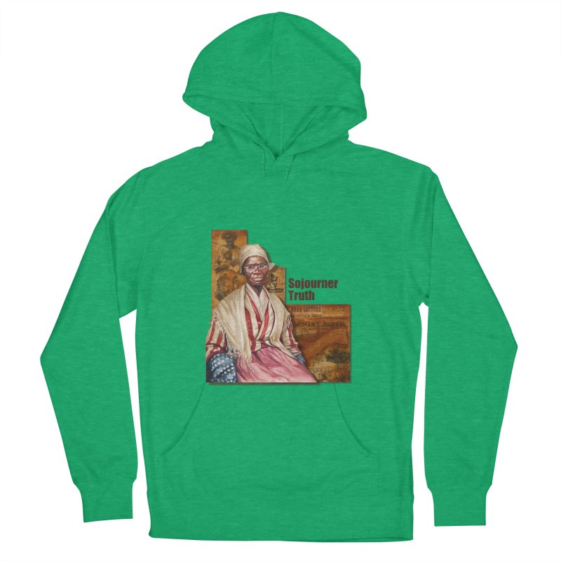 Sojourner Truth Women's French Terry Pullover Hoody by Afro Triangle's