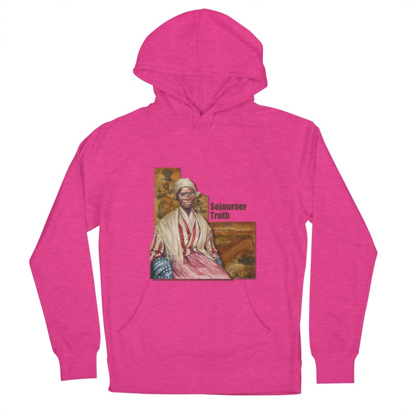 Sojourner Truth Men's French Terry Pullover Hoody by Afro Triangle's