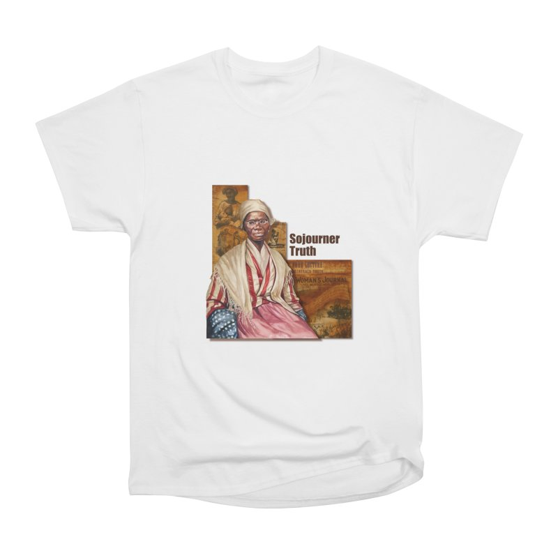 Sojourner Truth Women's Heavyweight Unisex T-Shirt by Afro Triangle's