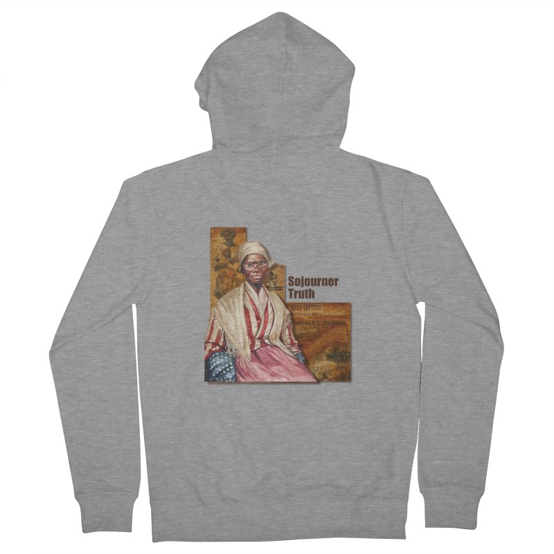 Sojourner Truth Women's Zip-Up Hoody by Afro Triangle's