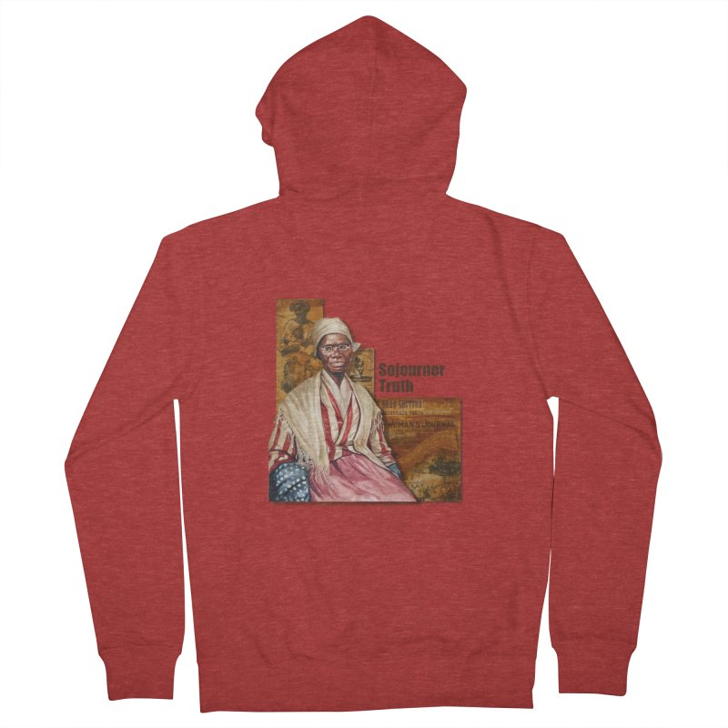 Sojourner Truth Women's French Terry Zip-Up Hoody by Afro Triangle's