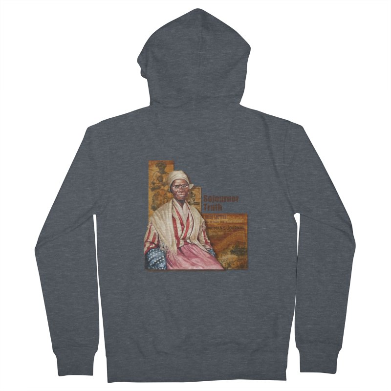 Sojourner Truth Men's Zip-Up Hoody by Afro Triangle's