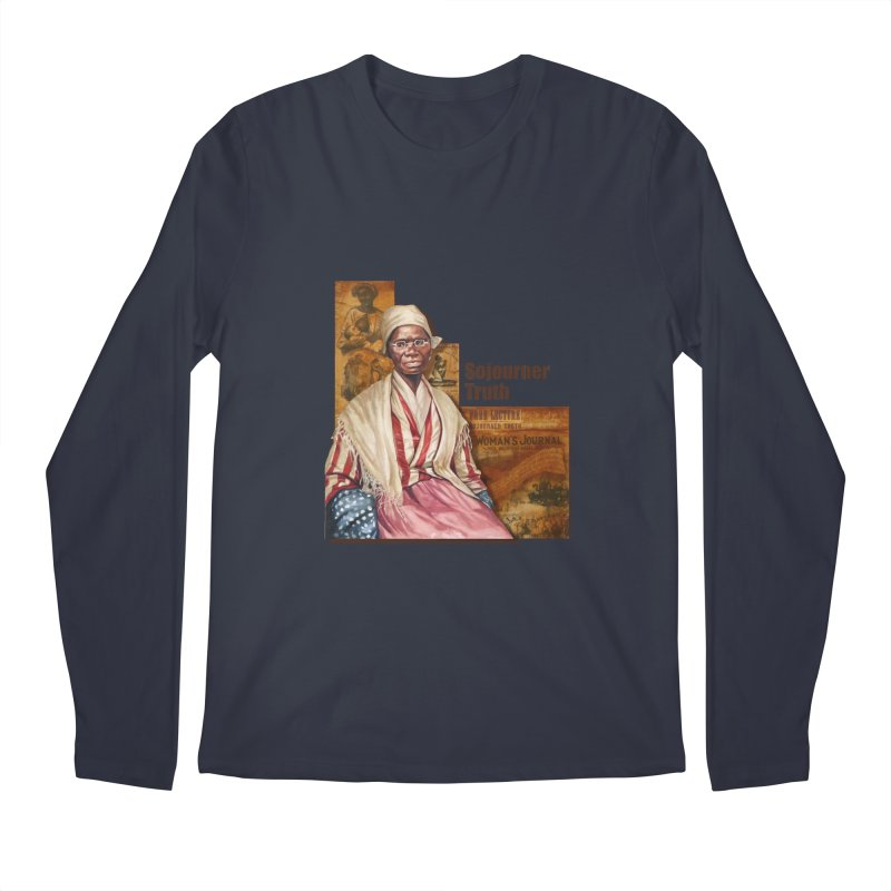 Sojourner Truth Men's Longsleeve T-Shirt by Afro Triangle's
