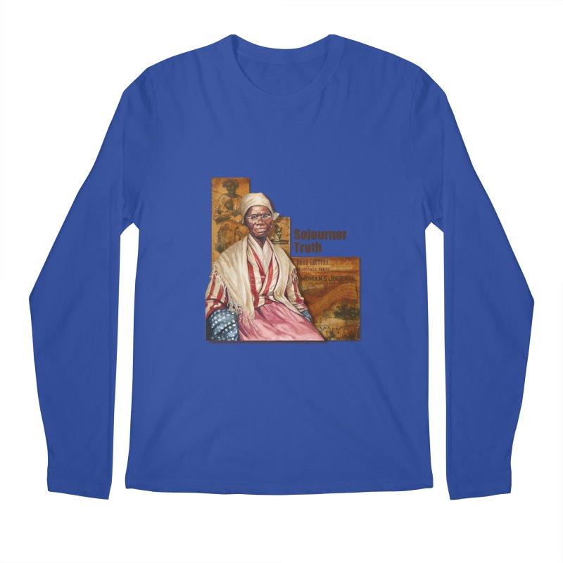 Sojourner Truth Men's Regular Longsleeve T-Shirt by Afro Triangle's