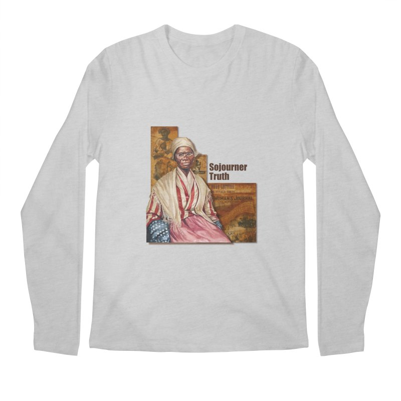 Sojourner Truth Men's Regular Longsleeve T-Shirt by Afro Triangle's
