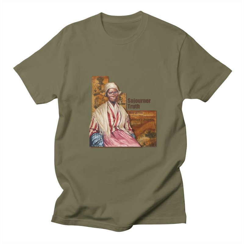Sojourner Truth Women's Regular Unisex T-Shirt by Afro Triangle's