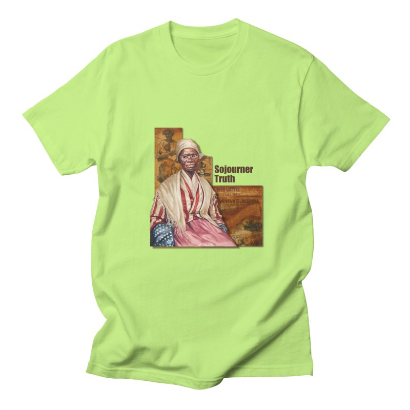 Sojourner Truth Men's Regular T-Shirt by Afro Triangle's