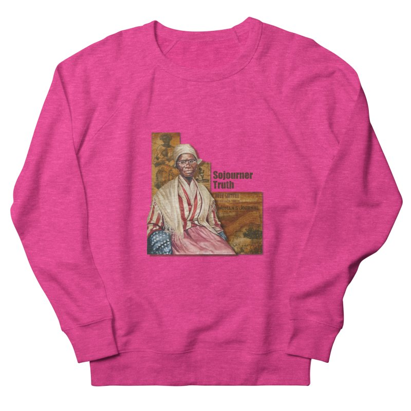 Sojourner Truth Women's French Terry Sweatshirt by Afro Triangle's