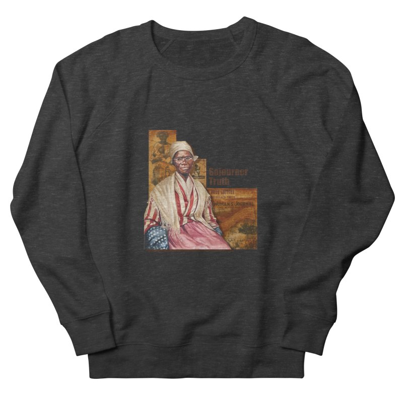 Sojourner Truth Men's French Terry Sweatshirt by Afro Triangle's