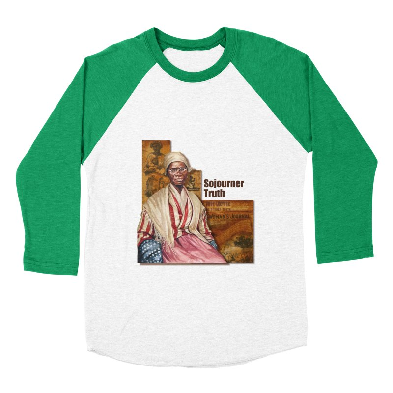 Sojourner Truth Women's Baseball Triblend Longsleeve T-Shirt by Afro Triangle's