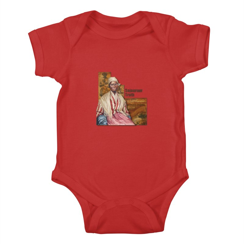 Sojourner Truth Kids Baby Bodysuit by Afro Triangle's