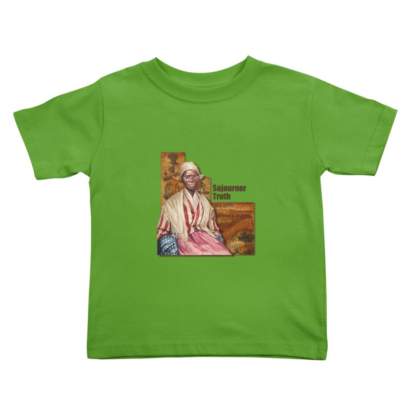 Sojourner Truth Kids Toddler T-Shirt by Afro Triangle's