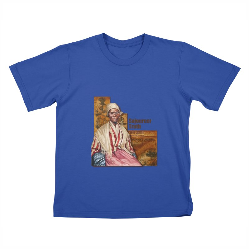 Sojourner Truth Kids T-Shirt by Afro Triangle's