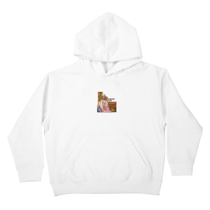 Sojourner Truth Kids Pullover Hoody by Afro Triangle's