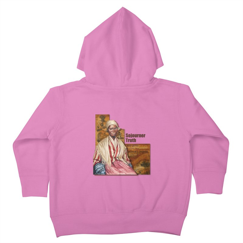 Sojourner Truth Kids Toddler Zip-Up Hoody by Afro Triangle's