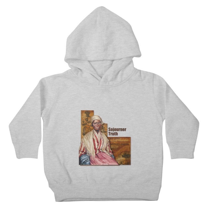 Sojourner Truth Kids Toddler Pullover Hoody by Afro Triangle's