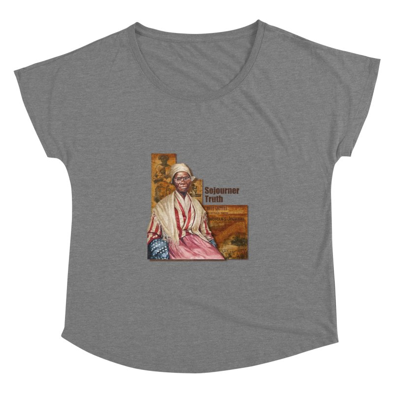 Sojourner Truth Women's Dolman by Afro Triangle's