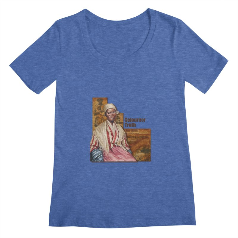 Sojourner Truth Women's Regular Scoop Neck by Afro Triangle's