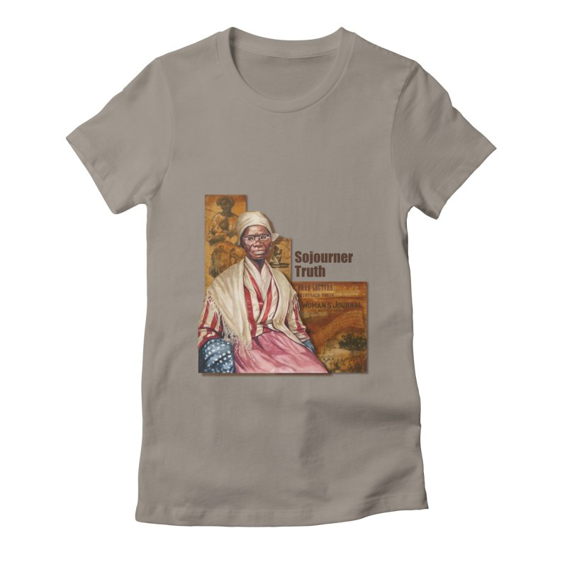 Sojourner Truth Women's T-Shirt by Afro Triangle's