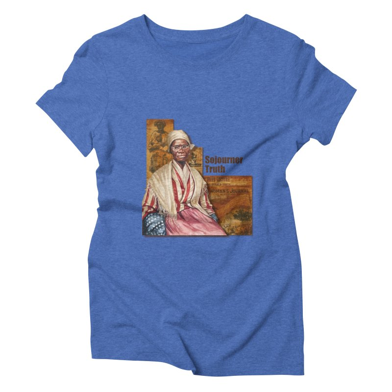 Sojourner Truth Women's Triblend T-Shirt by Afro Triangle's