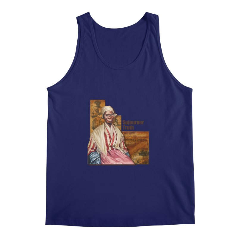 Sojourner Truth Men's Tank by Afro Triangle's