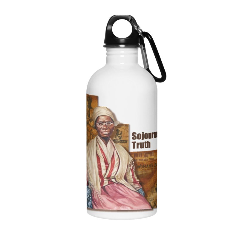 Sojourner Truth Accessories Water Bottle by Afro Triangle's