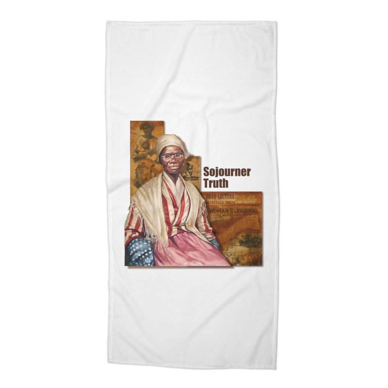 Sojourner Truth Accessories Beach Towel by Afro Triangle's