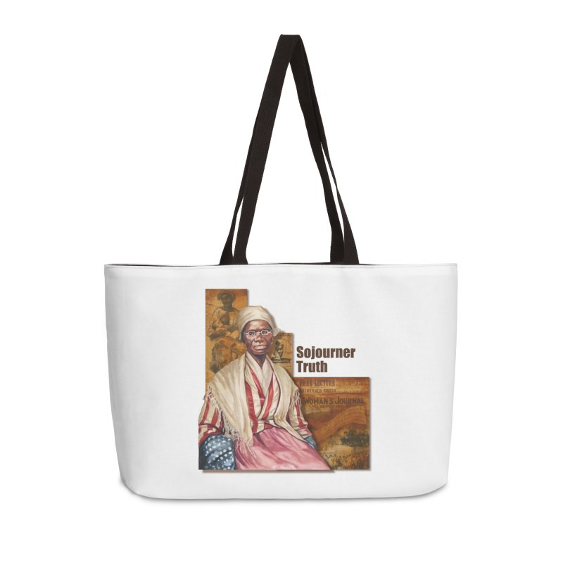 Sojourner Truth Accessories Weekender Bag Bag by Afro Triangle's
