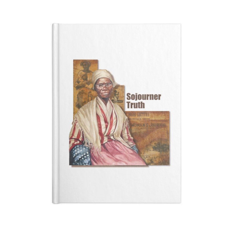 Sojourner Truth Accessories Blank Journal Notebook by Afro Triangle's