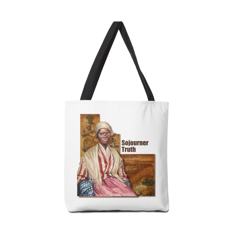 Sojourner Truth Accessories Tote Bag Bag by Afro Triangle's