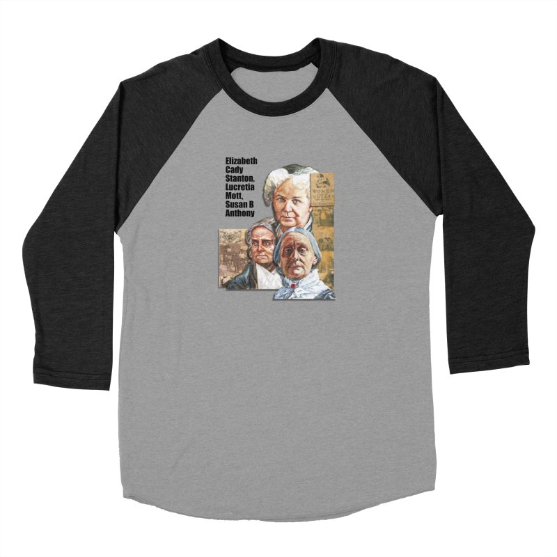 Women's Suffrage Men's Baseball Triblend Longsleeve T-Shirt by Afro Triangle's