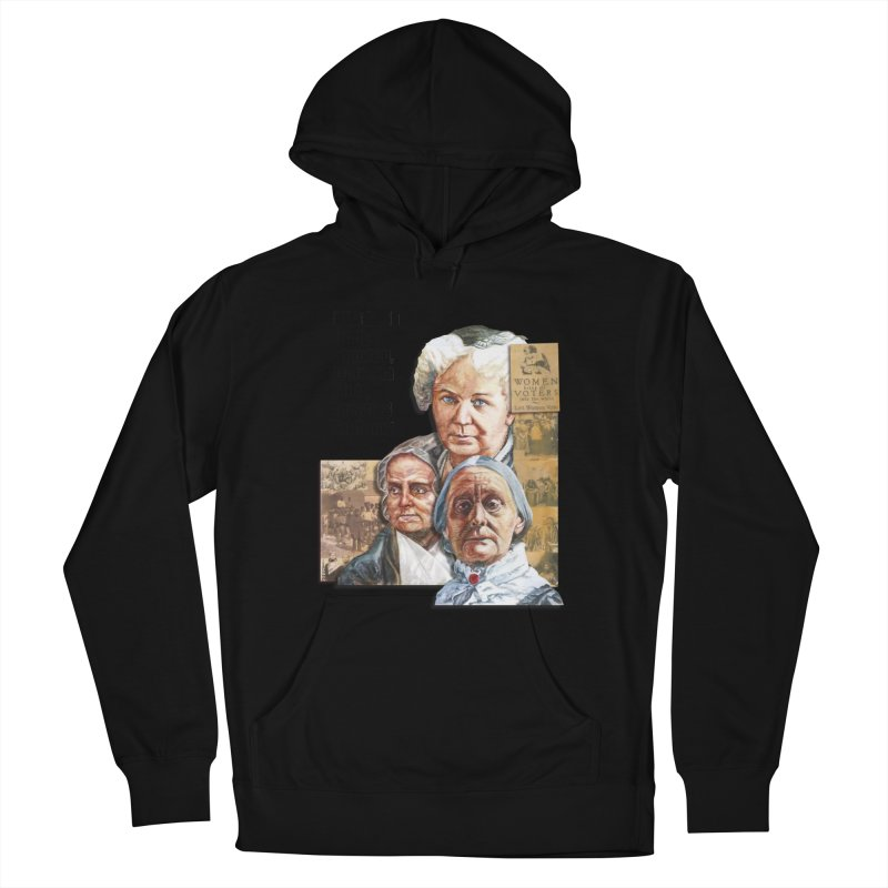 Women's Suffrage Women's French Terry Pullover Hoody by Afro Triangle's