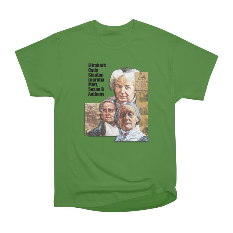 Women's Suffrage Men's Classic T-Shirt by Afro Triangle's