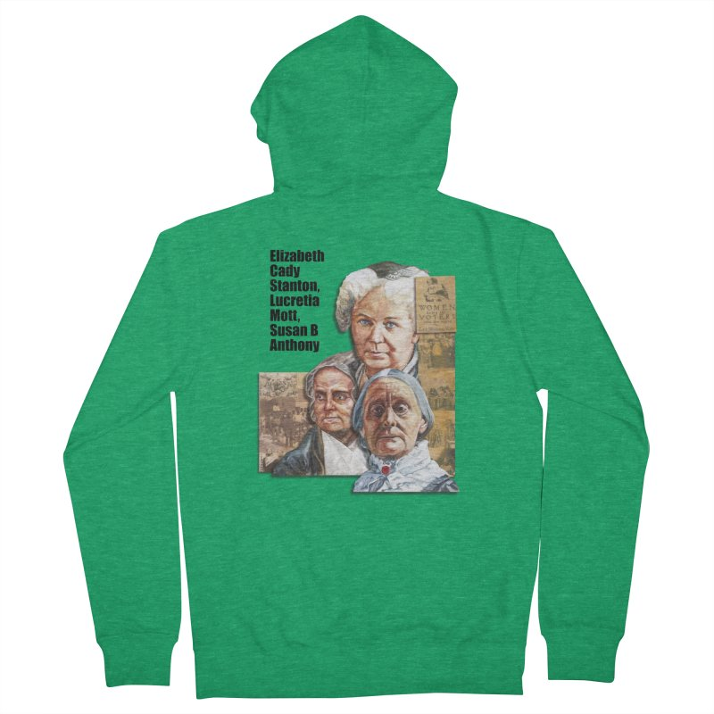 Women's Suffrage Women's Zip-Up Hoody by Afro Triangle's
