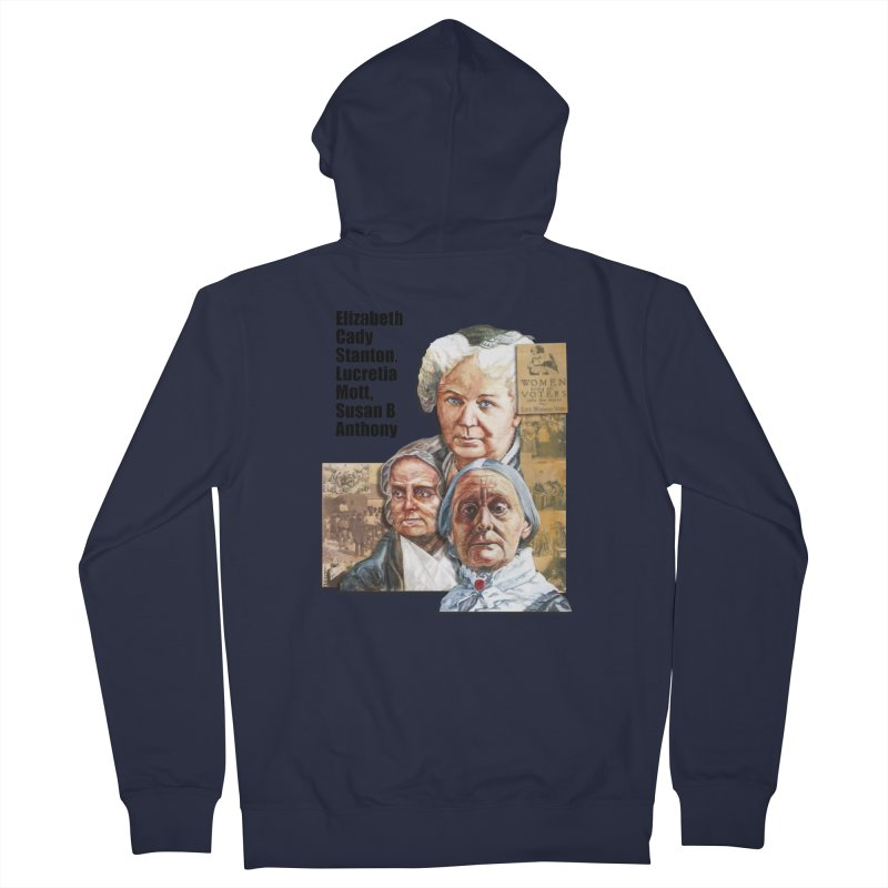 Women's Suffrage Women's French Terry Zip-Up Hoody by Afro Triangle's