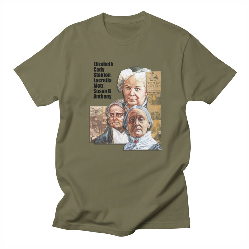 Women's Suffrage Men's Regular T-Shirt by Afro Triangle's