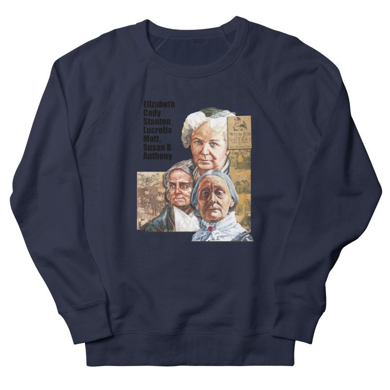 Women's Suffrage Women's French Terry Sweatshirt by Afro Triangle's