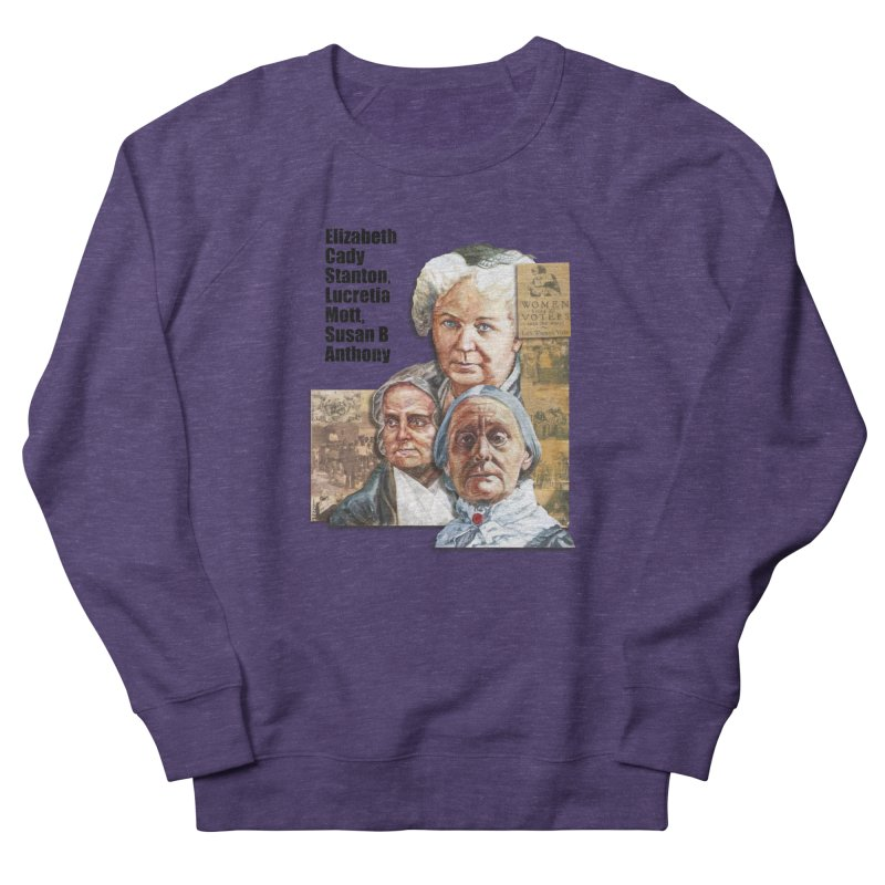 Women's Suffrage Men's French Terry Sweatshirt by Afro Triangle's