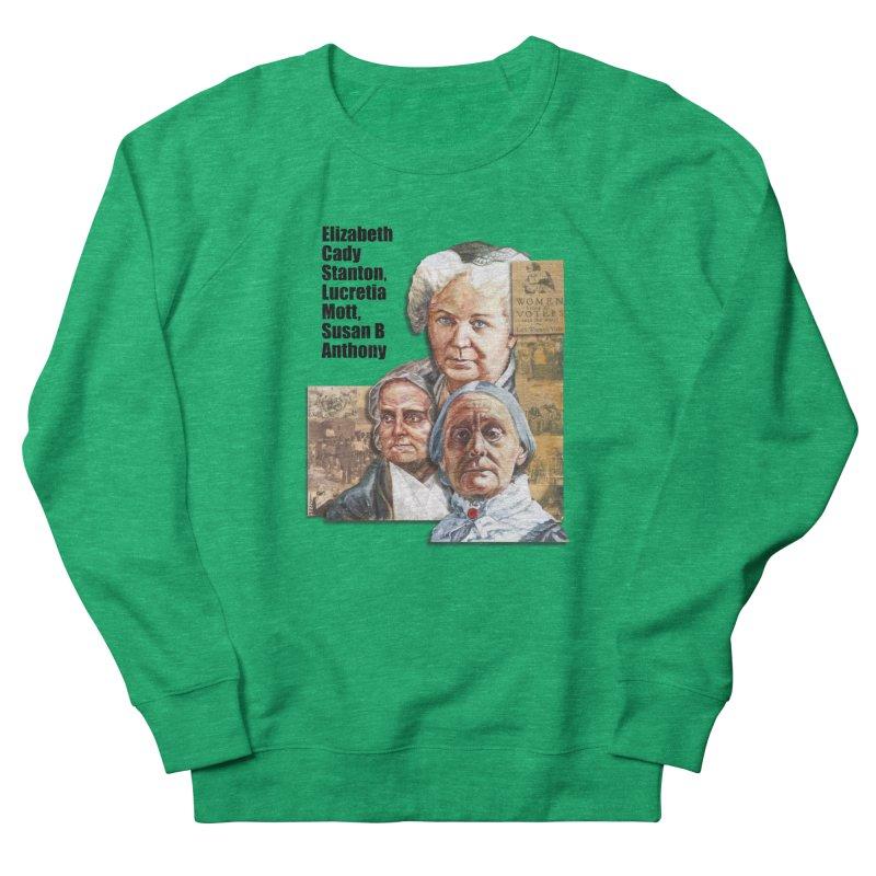Women's Suffrage Men's Sweatshirt by Afro Triangle's