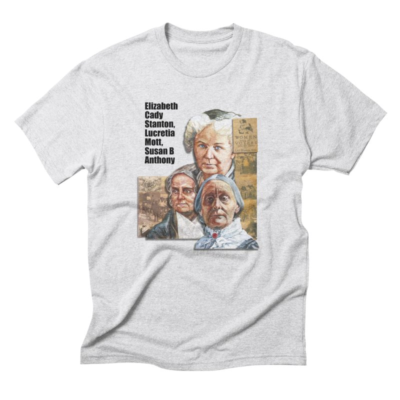 Women's Suffrage Men's Triblend T-Shirt by Afro Triangle's
