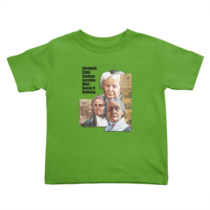 Women's Suffrage Kids Toddler T-Shirt by Afro Triangle's