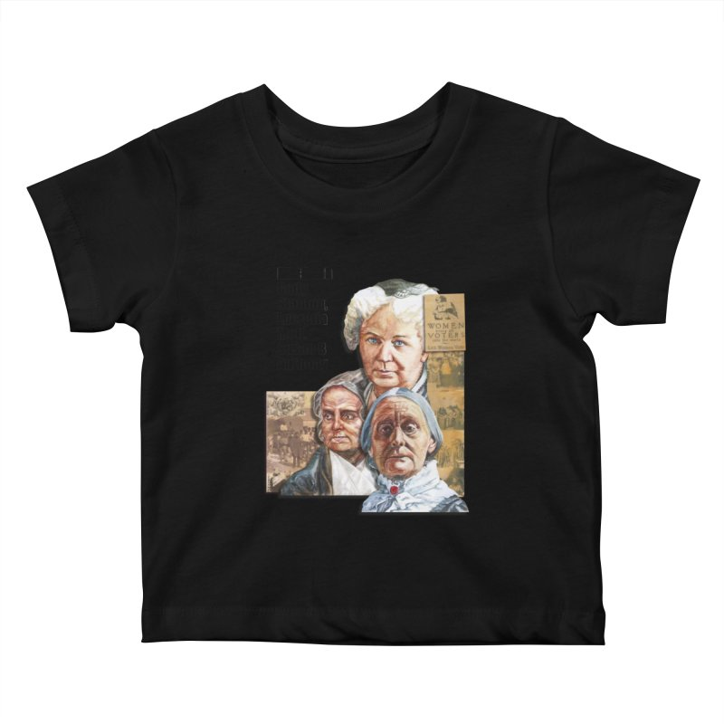 Women's Suffrage Kids Baby T-Shirt by Afro Triangle's