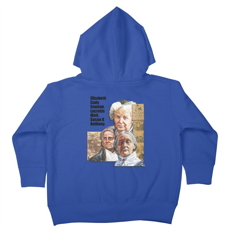 Women's Suffrage Kids Toddler Zip-Up Hoody by Afro Triangle's